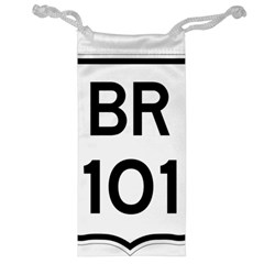 Brazil BR-101 Transcoastal Highway  Jewelry Bag