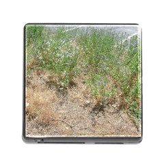 Wildflowers Memory Card Reader (Square)