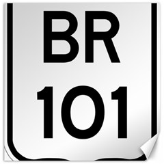 Brazil BR-101 Transcoastal Highway  Canvas 12  x 12