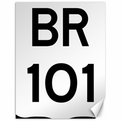 Brazil BR-101 Transcoastal Highway  Canvas 12  x 16