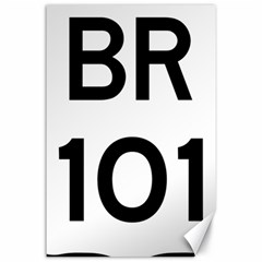Brazil BR-101 Transcoastal Highway  Canvas 24  x 36