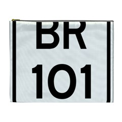 Brazil BR-101 Transcoastal Highway  Cosmetic Bag (XL)