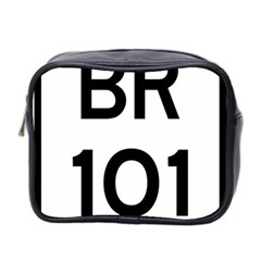 Brazil BR-101 Transcoastal Highway  Mini Toiletries Bag 2-Side