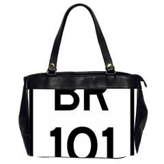 Brazil BR-101 Transcoastal Highway  Office Handbags (2 Sides)