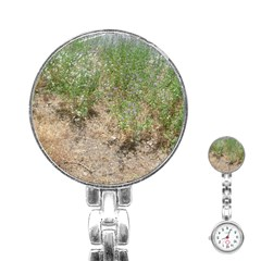 Wildflowers Stainless Steel Nurses Watch