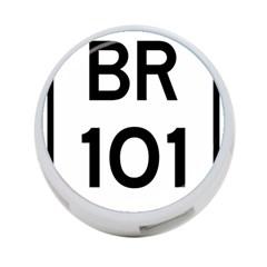 Brazil BR-101 Transcoastal Highway  4-Port USB Hub (Two Sides)