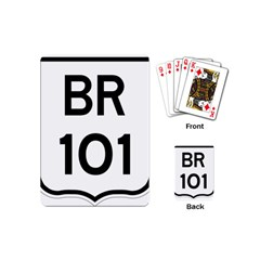 Brazil BR-101 Transcoastal Highway  Playing Cards (Mini)
