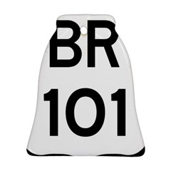 Brazil BR-101 Transcoastal Highway  Bell Ornament (Two Sides)