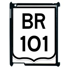 Brazil BR-101 Transcoastal Highway  Apple iPad 2 Case (Black)