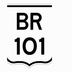 Brazil BR-101 Transcoastal Highway  Small Garden Flag (Two Sides)