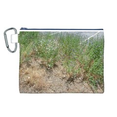 Wildflowers Canvas Cosmetic Bag (L)