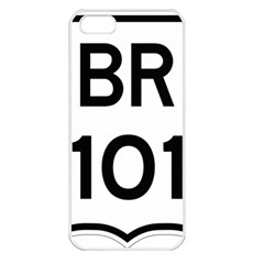 Brazil BR-101 Transcoastal Highway  Apple iPhone 5 Seamless Case (White)
