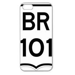 Brazil BR-101 Transcoastal Highway  Apple Seamless iPhone 5 Case (Clear)