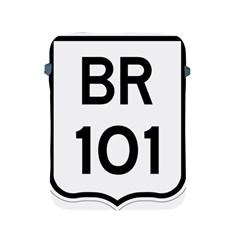 Brazil BR-101 Transcoastal Highway  Apple iPad 2/3/4 Protective Soft Cases