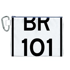 Brazil BR-101 Transcoastal Highway  Canvas Cosmetic Bag (XL)