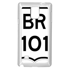 Brazil BR-101 Transcoastal Highway  Samsung Galaxy Note 4 Case (White)