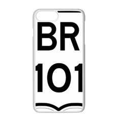 Brazil BR-101 Transcoastal Highway  Apple iPhone 7 Plus White Seamless Case