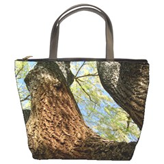Willow Tree Reaching Skyward Bucket Bags