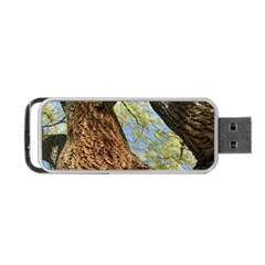 Willow Tree Reaching Skyward Portable USB Flash (Two Sides)