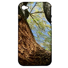 Willow Tree Reaching Skyward Apple iPhone 4/4S Hardshell Case (PC+Silicone)