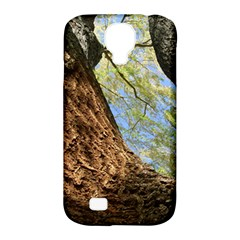 Willow Tree Reaching Skyward Samsung Galaxy S4 Classic Hardshell Case (PC+Silicone)
