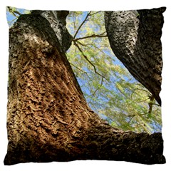 Willow Tree Reaching Skyward Standard Flano Cushion Case (One Side)