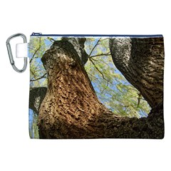 Willow Tree Reaching Skyward Canvas Cosmetic Bag (XXL)