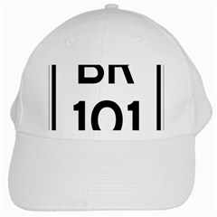 Brazil BR-101 Transcoastal Highway  White Cap