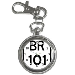 Brazil BR-101 Transcoastal Highway  Key Chain Watches