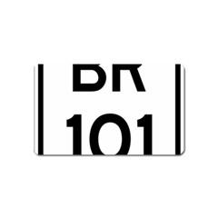 Brazil BR-101 Transcoastal Highway  Magnet (Name Card)