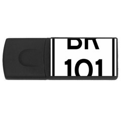 Brazil BR-101 Transcoastal Highway  USB Flash Drive Rectangular (4 GB)