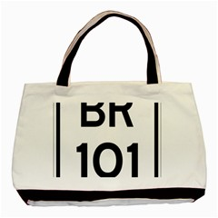Brazil BR-101 Transcoastal Highway  Basic Tote Bag