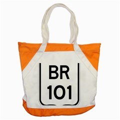 Brazil BR-101 Transcoastal Highway  Accent Tote Bag