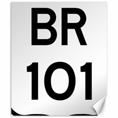 Brazil BR-101 Transcoastal Highway  Canvas 8  x 10