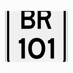 Brazil BR-101 Transcoastal Highway  Small Glasses Cloth (2-Side)