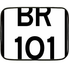 Brazil BR-101 Transcoastal Highway  Double Sided Fleece Blanket (Mini)
