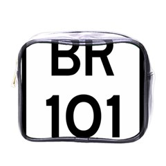 Brazil BR-101 Transcoastal Highway  Mini Toiletries Bags