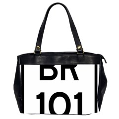 Brazil BR-101 Transcoastal Highway  Office Handbags (2 Sides)