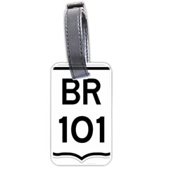 Brazil BR-101 Transcoastal Highway  Luggage Tags (One Side)