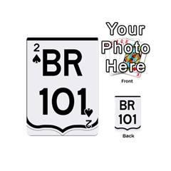 Brazil BR-101 Transcoastal Highway  Playing Cards 54 (Mini)