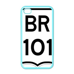 Brazil BR-101 Transcoastal Highway  Apple iPhone 4 Case (Color)