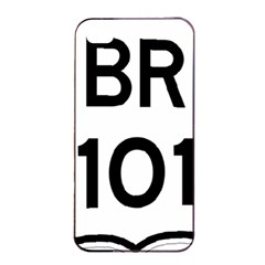 Brazil BR-101 Transcoastal Highway  Apple iPhone 4/4s Seamless Case (Black)
