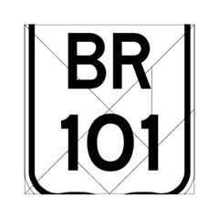 Brazil BR-101 Transcoastal Highway  Acrylic Tangram Puzzle (6  x 6 )