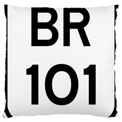 Brazil BR-101 Transcoastal Highway  Large Cushion Case (Two Sides)