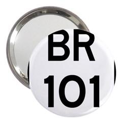 Brazil BR-101 Transcoastal Highway  3  Handbag Mirrors