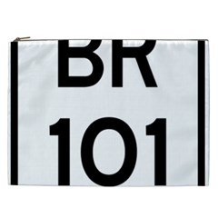 Brazil BR-101 Transcoastal Highway  Cosmetic Bag (XXL)