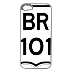 Brazil BR-101 Transcoastal Highway  Apple iPhone 5 Case (Silver)