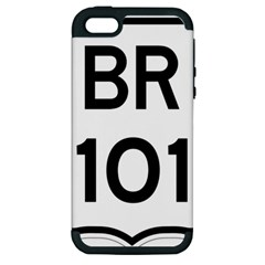 Brazil BR-101 Transcoastal Highway  Apple iPhone 5 Hardshell Case (PC+Silicone)