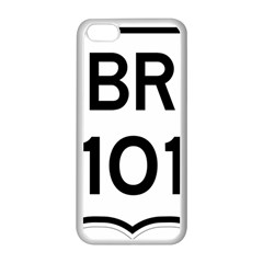 Brazil BR-101 Transcoastal Highway  Apple iPhone 5C Seamless Case (White)