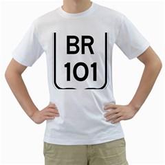 Brazil BR-101 Transcoastal Highway  Men s T-Shirt (White)